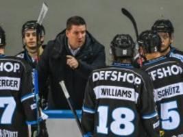 eishockey: gedimmtes rampenlicht