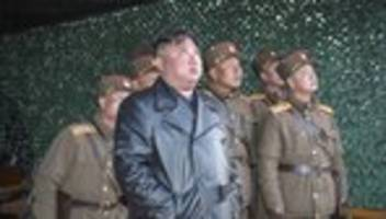 Raketentest: Nordkorea will super-großen Raketenwerfer getestet haben