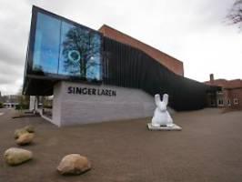schock in museum nahe amsterdam: einbrecher stehlen gemälde von van gogh