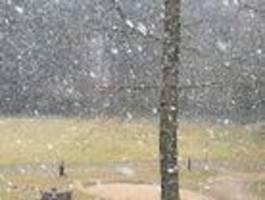 verspäteter schnee - und schon wieder trockenheit