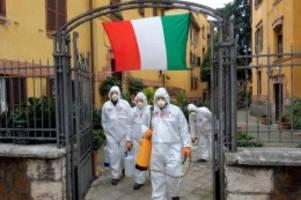 gehen in richtige richtung: zahl der corona-neuinfektionen in italien stabilisiert sich