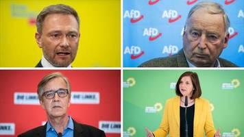 Politik in Krisenzeiten: Weniger Opposition war wohl nie: Wie die Parteien in der Corona-Krise um Gehör kämpfen
