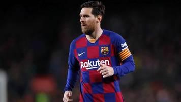 Corona-Krise: 70 Prozent! Messi und Barça-Stars verzichten auf Gehalt