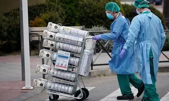 Mehr Virus-Infizierte in Spanien als in China
