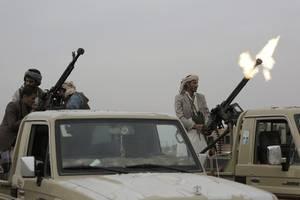 Saudi-Arabien fängt Raketen über Riad und Grenzstadt zum Jemen ab