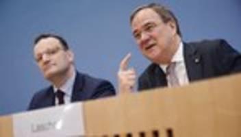 corona-krise: livestream: spahn und laschet in der bundespressekonferenz