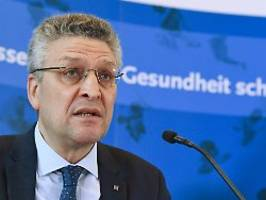 Sterberate noch gering: Wieler: Handfeste Zahlen bis Ostern