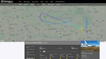 antonov an-225: nach monatelanger modernisierung: das größte flugzeug der welt hebt wieder ab