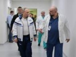 russischer corona-chefarzt positiv getestet