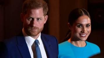 Bye, Bye Königshaus: Harry und Meghan nehmen Abschied