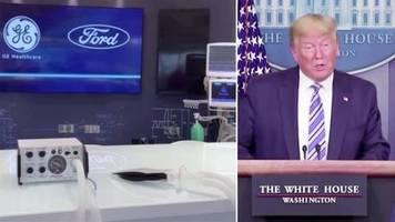 Coronavirus-Krise: Nach Trump-Kritik: Ford verspricht 50.000 Beatmungsgeräte – in 100 Tagen