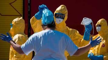 News zum Coronavirus: Jetzt mehr als 800.000 Fälle weltweit – knapp die Hälfte davon in Europa