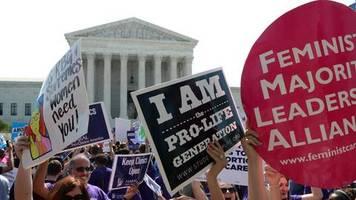 schwangerschaftsabbrüche: us-richter kippt vorläufiges abtreibungsverbot in texas