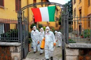 Covid-19-Pandemie: Corona-Krise: Italien sieht etwas Licht am Ende des Tunnels