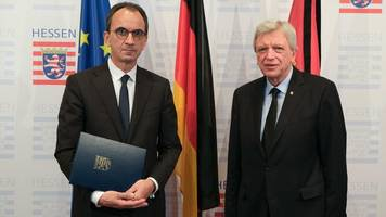 Hessen: Bouffier ernennt Boddenberg zum hessischen Finanzminister
