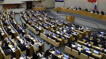 coronavirus: russlands parlament stimmt für strenge gesetze