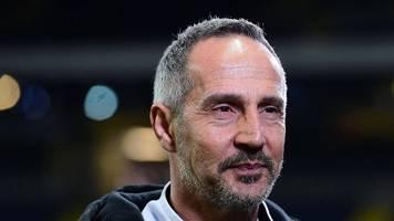 Corona-Krise: Frankfurt-Coach Adi Hütter rechnet mit Europa-League-Abbruch
