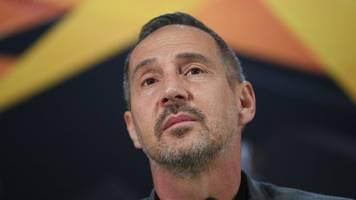 Eintracht-Trainer rechnet mit Abbruch der Europa League