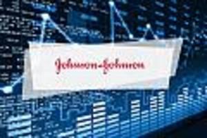 johnson & johnson-aktie aktuell - johnson & johnson legt mit 7,2 prozent dramatisch zu