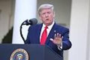 US-Präsident - Donald Trump blamiert sich mit Corona-Vergleich zu Südkorea