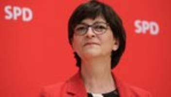 Lastenausgleich: Saskia Esken schlägt Vermögensabgabe wegen Corona-Krise vor
