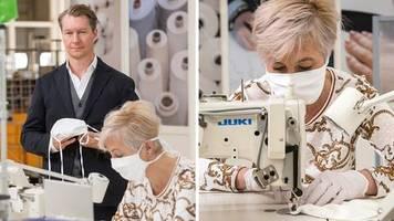 Geschäftsführer Matthias Mey: Masken statt Dessous: Wie der Wäsche-Hersteller Mey in der Corona-Krise hilft