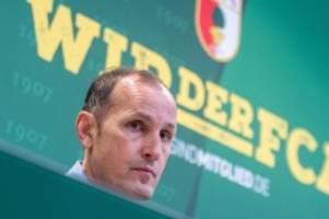 Corona-Krise: FCA-Coach Herrlich: Wollen das Beste aus Situation machen