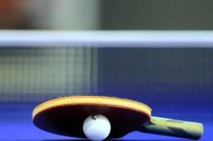 tischtennis-saison beendet - männer-bundesliga noch offen