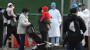 Coronavirus in China: Infizierten-Zahl steigt mit neuer Zählweise