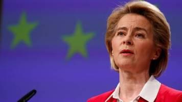 EU-Kommissionspräsidentin besorgt über Ungarns Notstandsgesetz