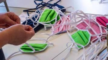 tröpcheninfektion: hygiene-experten: selbst genähte schutzmasken schützen vor ansteckung