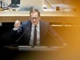 SPD drängt auf Berliner Notparlament
