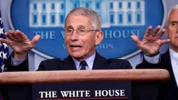 Medienberichte: US-Virologe und Regierungsberater Fauci erhält Morddrohungen