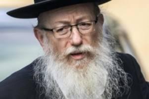 Auch Ehefrau infiziert: Israels Gesundheitsminister an Coronavirus erkrankt