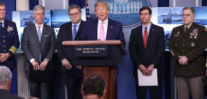 «Werden sehr hohen Preis bezahlen»: Trump warnt Iran vor «heimlicher Attacke»