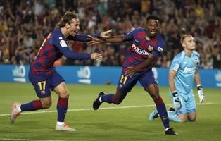 Primera Division: Tauscht Barca Griezmann für Neymar?
