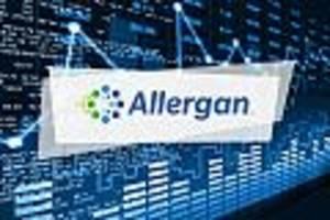 allergan-aktie aktuell - allergan verzeichnet mit 1,8 prozent verluste