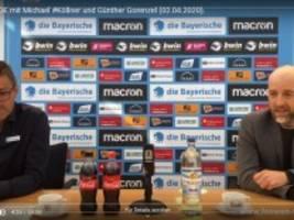 TSV 1860 München: Beobachtung einer Schneeflocke