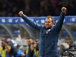 bayern-coach überzeugt alle: flick siegt sich von der not- zur dauerlösung