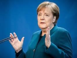 Pandemie als Herkulesaufgabe: Infiziertenzahlen machen Merkel Hoffnung