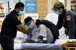 Newsblog: Corona-Krise in den USA: 1169 Tote innerhalb von 24 Stunden