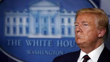 US-Präsident: Trump im Kampf gegen den unsichtbaren Feind