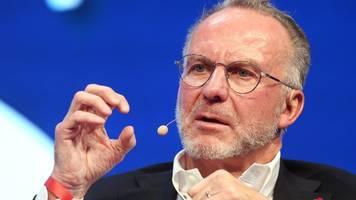 Bayern-Chef Rummenigge erwartet Auswirkung auf Transfermarkt