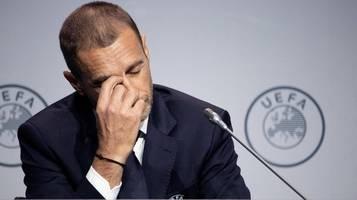 Fußball in der Corona-Krise: Saisonabbrüche in Europa? Uefa-Boss droht