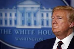 Trump im Kampf gegen den unsichtbaren Feind