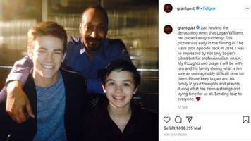 Serie The Flash: Große Trauer um jungen Kollegen: Schauspieler Logan Williams stirbt mit 16 Jahren