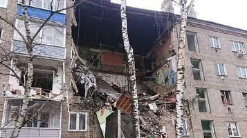 Russland: Wohnhaus bei Moskau stürzt ein – Tote und Verletzte