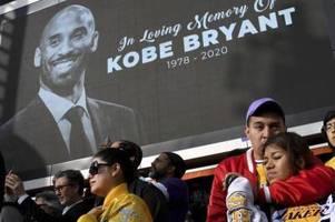 Kobe Bryant in Hall of Fame des Basketballs aufgenommen