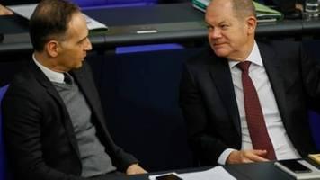 Maas und Scholz sichern EU-Partnern deutsche Solidarität in Corona-Krise zu