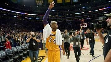 Kobe Bryant: Posthume Ehre für die verstorbene NBA-Ikone